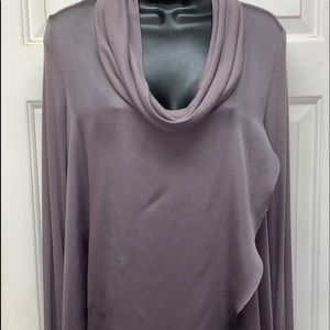 Deletta by Anthropologie Draped Cowl Tunic/ Size M